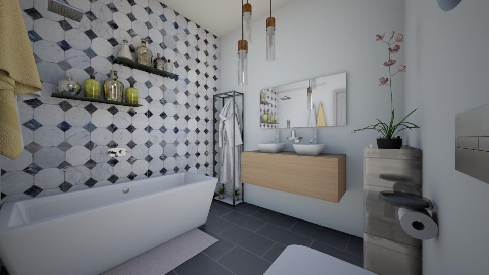 House Makeover Bathroom - Bathroom - by niidurose
