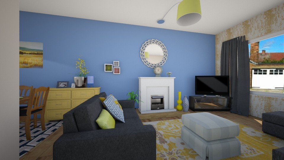 changingroom - Living room - by Interiors by Elaine