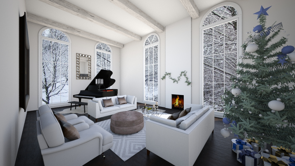 Winter Living Room - Glamour - Living room - by Ana Mercedes