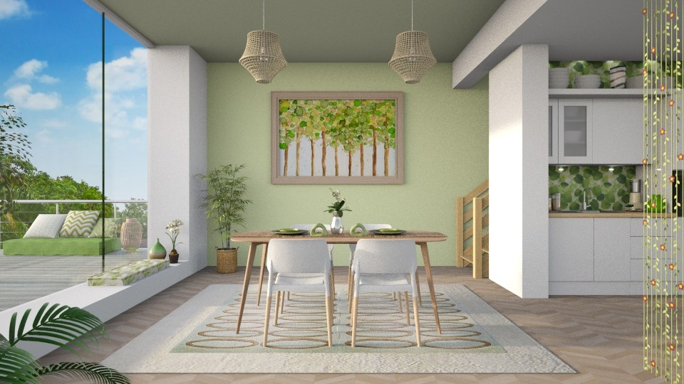 Spring Dining - Dining room - by LB1981
