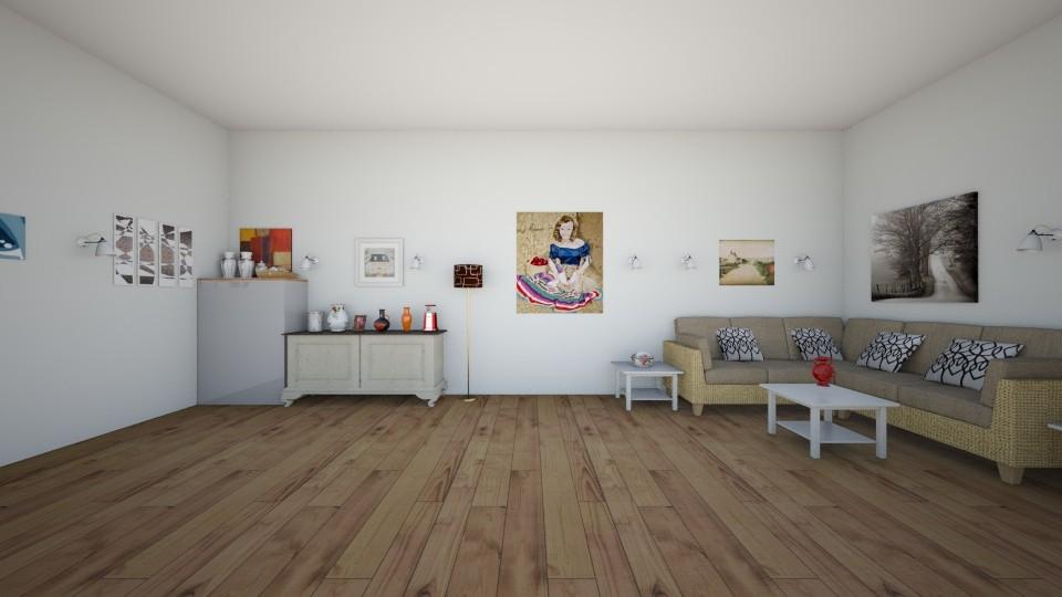 Rustic and Romantic LR - Modern - Living room - by Elf_prettyballetgirl16