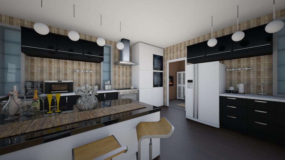 jhb - Kitchen  - by ivaninayo