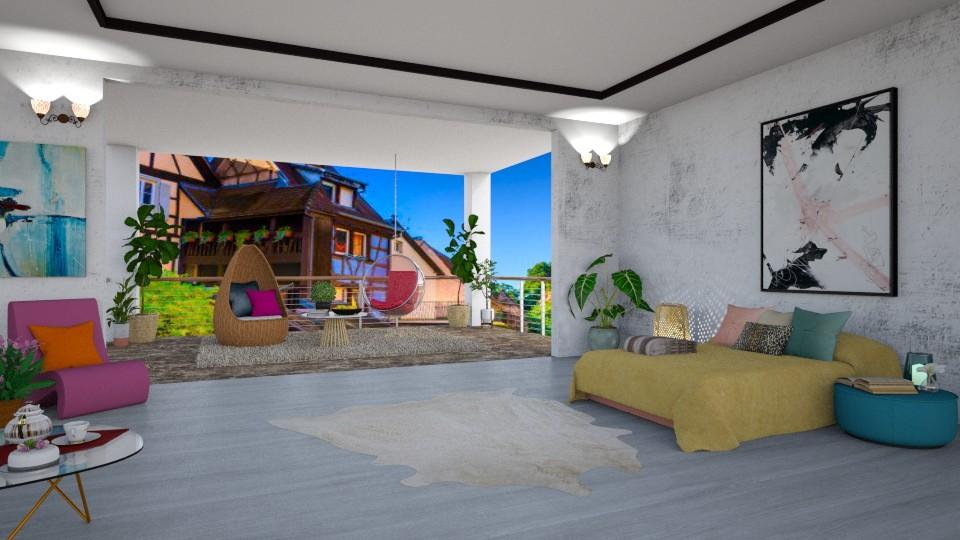 Village House - Modern - Bedroom - by Art_Decoration