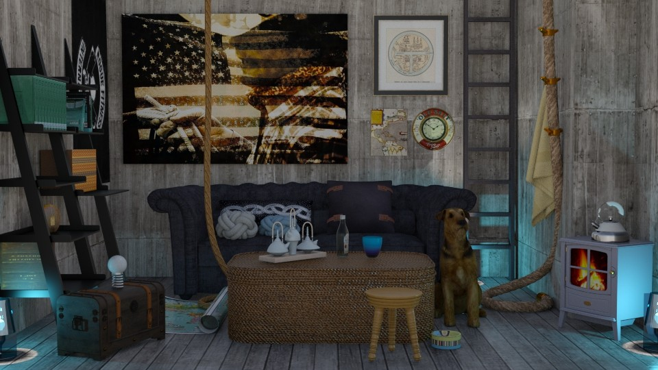 Fishermans knot - Living room - by Tree Nut