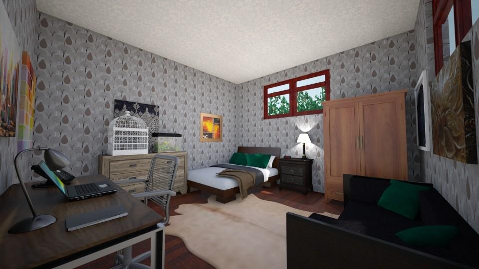 Basement bedroom - Bedroom - by scourgethekid