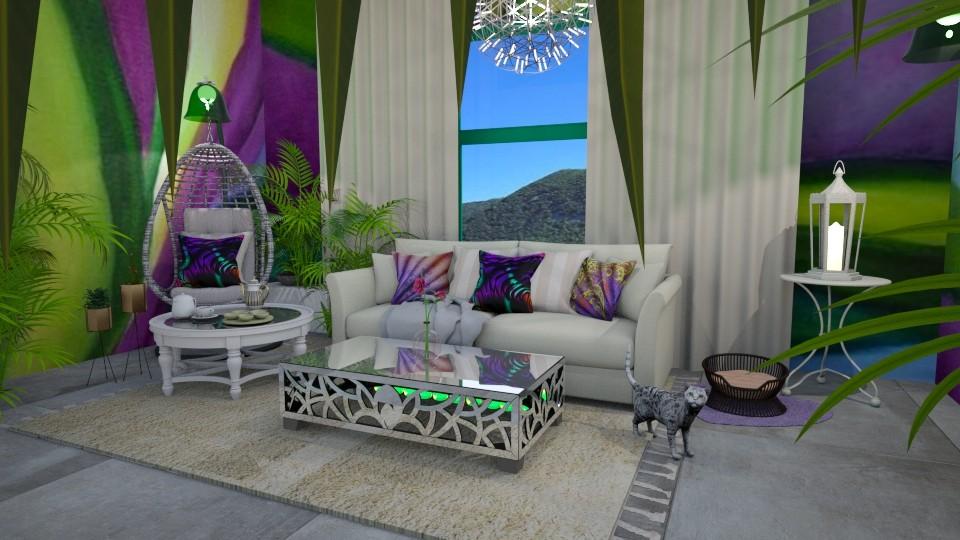 Okeeffe Room - Living room - by Gab71892