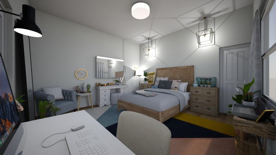 retro - Bedroom  - by elisaaaa