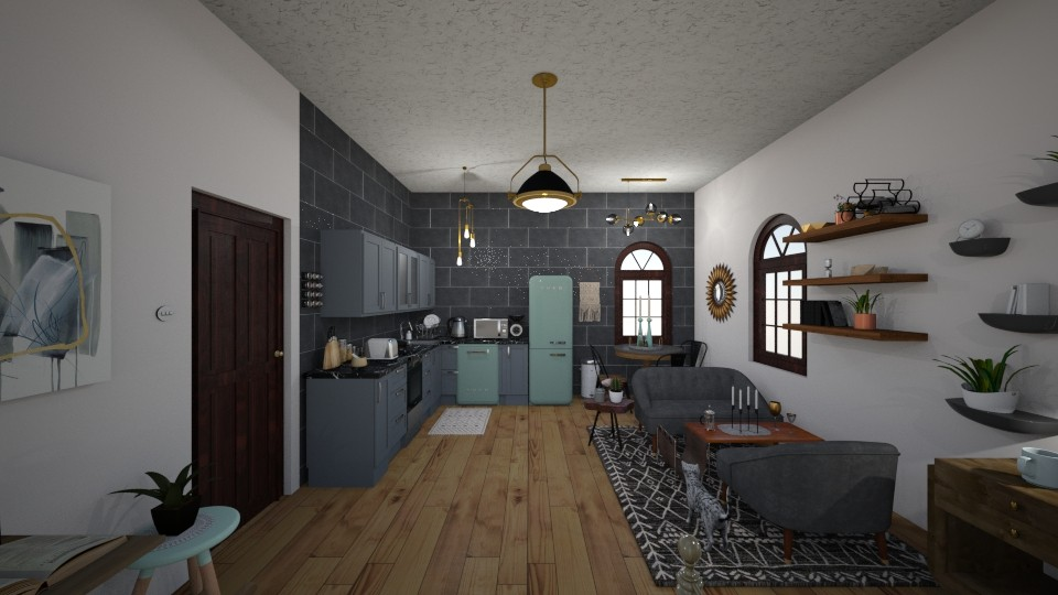 Studio Apartment - by PeculiarLeah