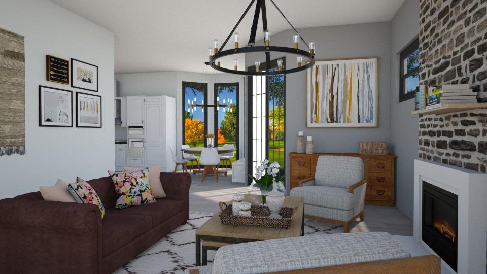 naturel room - Country - Living room - by nuray kalkan