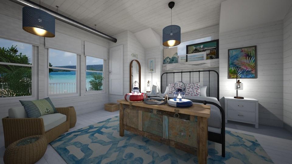 Nautical Bedroom - Bedroom - by PenAndPaper