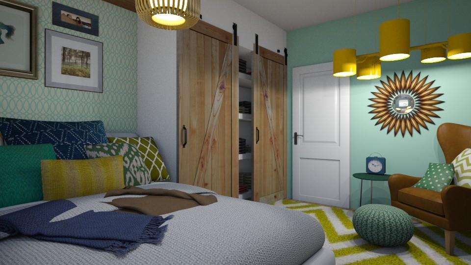 my new room - Bedroom - by Lena Y