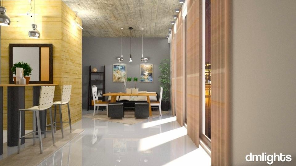 DiningRoomDMLight - Dining room - by Mihailovikj Mimi