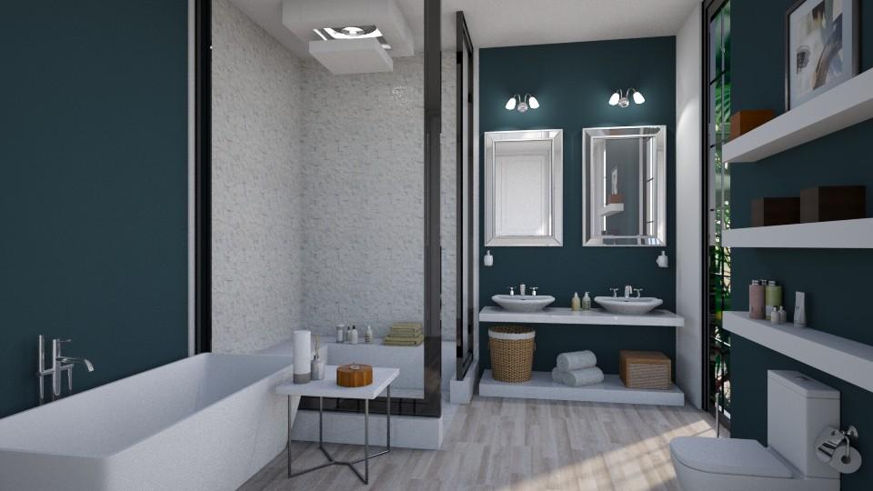 McB - Modern - Bathroom  - by Amorum X