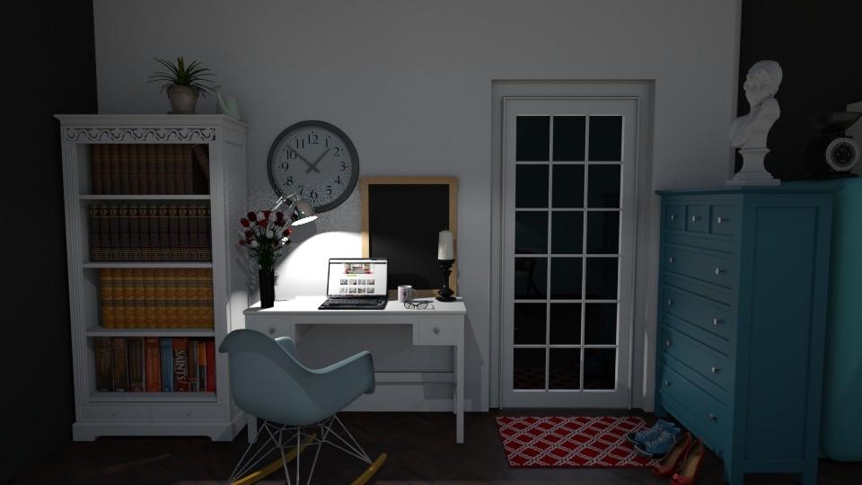 4 room - Living room  - by hipisiu