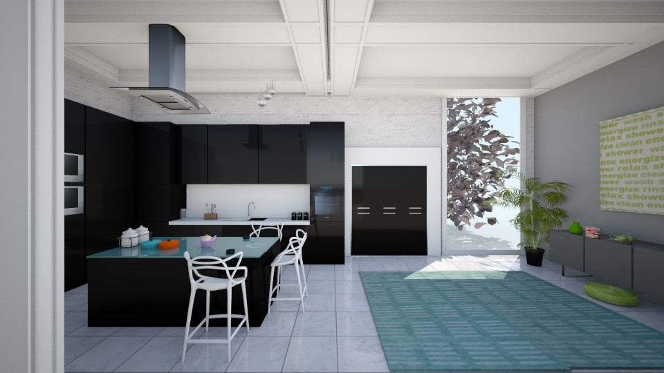 zzzz - Modern - Kitchen - by veki