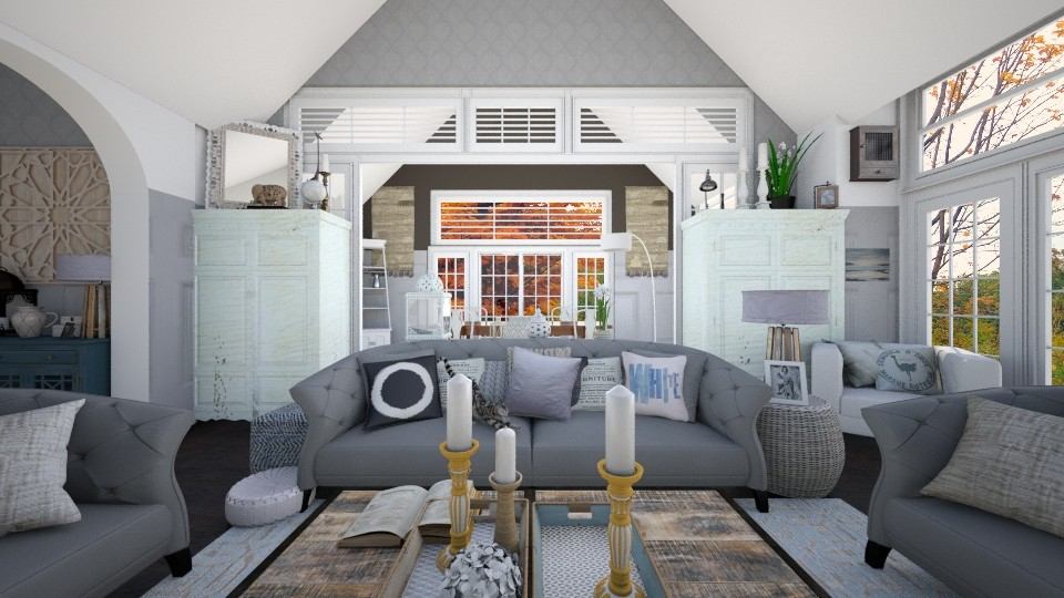 Partitions - Living room - by SimonRoshana