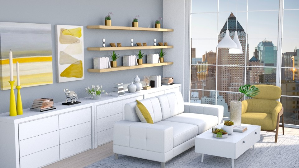 City - Living room  - by igell90