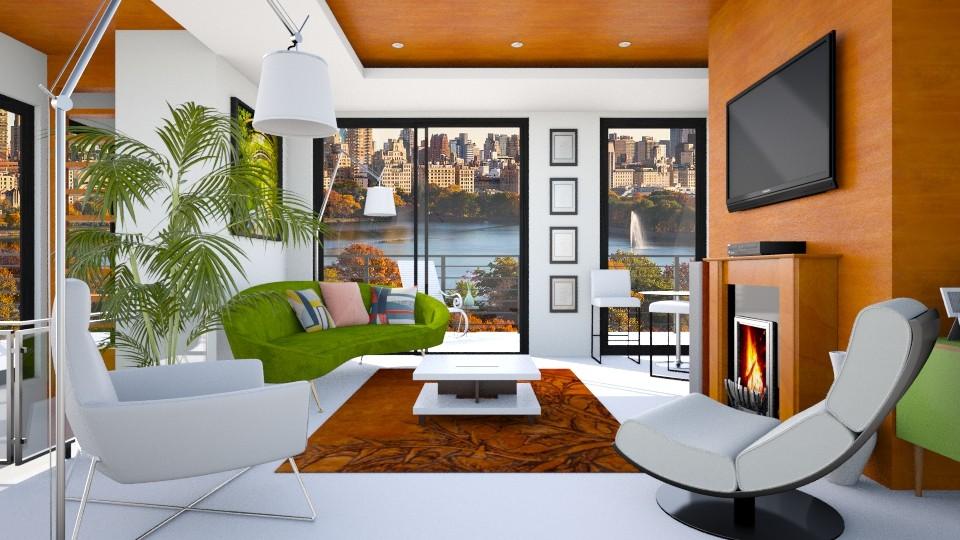 2nd Floor_Thistle - Living room - by JayPH