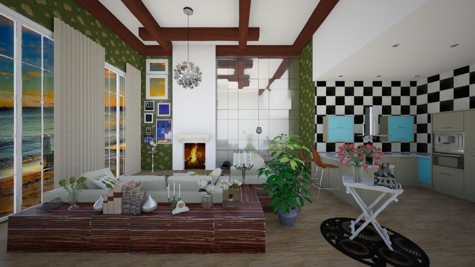 wrap around - Modern - Living room - by mckennakeegan