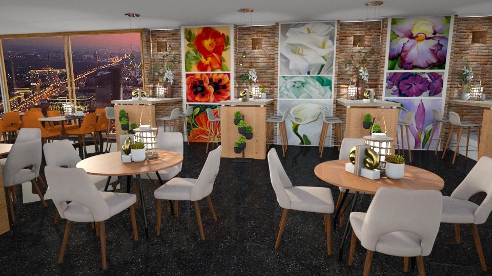 O Keeffe  - Dining room  - by snjeskasmjeska