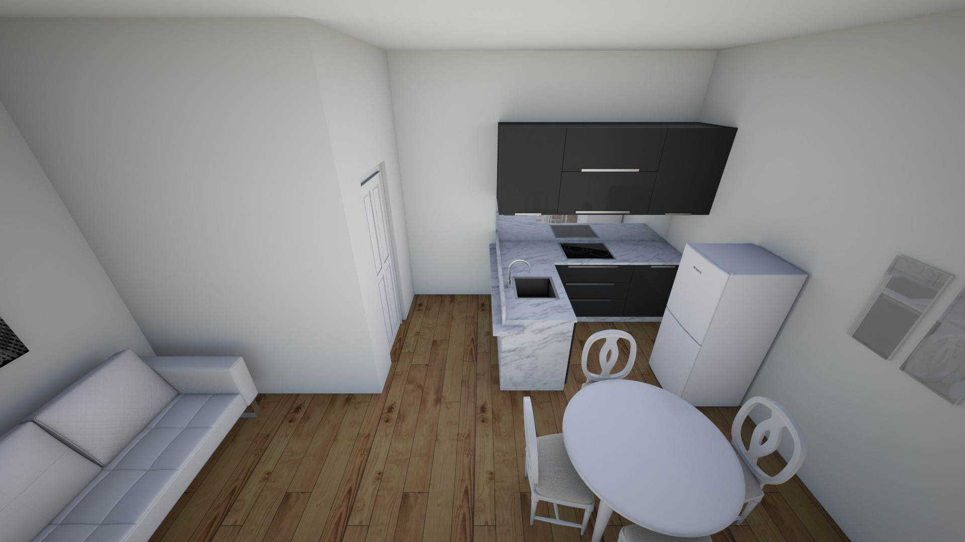 Small Apartment - by Khyra