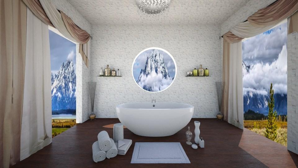 Leura - Bathroom - by Cairalacas