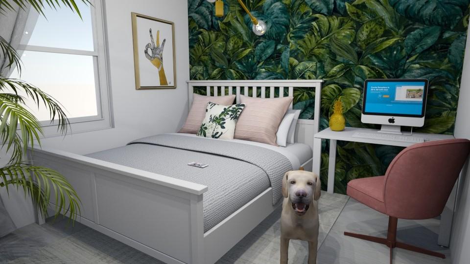 Jungle Bedroom II - Bedroom - by Psoglavik