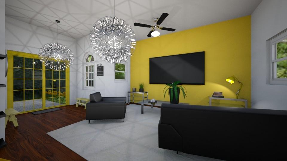 Living Room - Modern - Living room - by imgoodatusernames