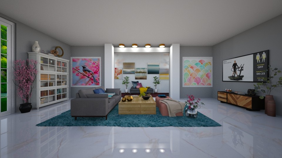 Relax - Modern - Living room - by Art_Decoration