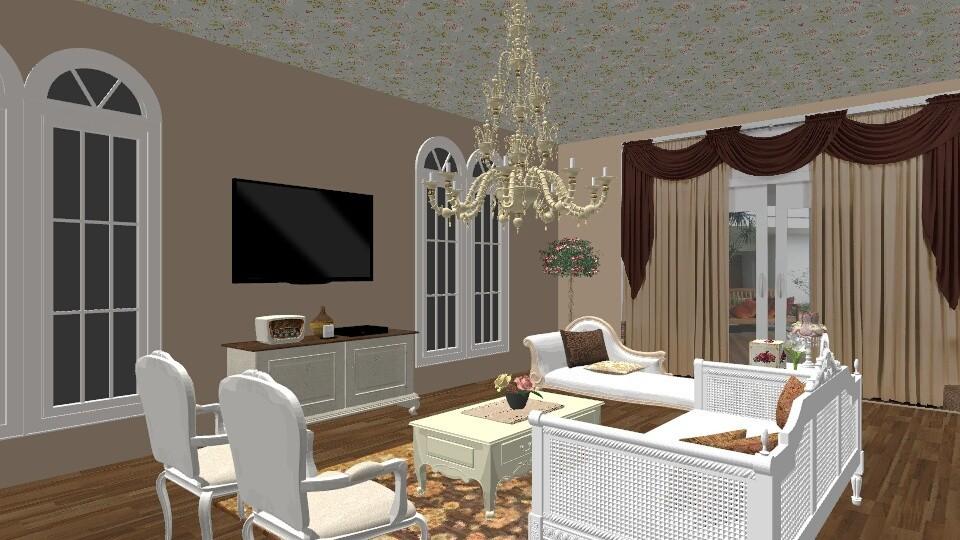 camp - Living room - by aguss