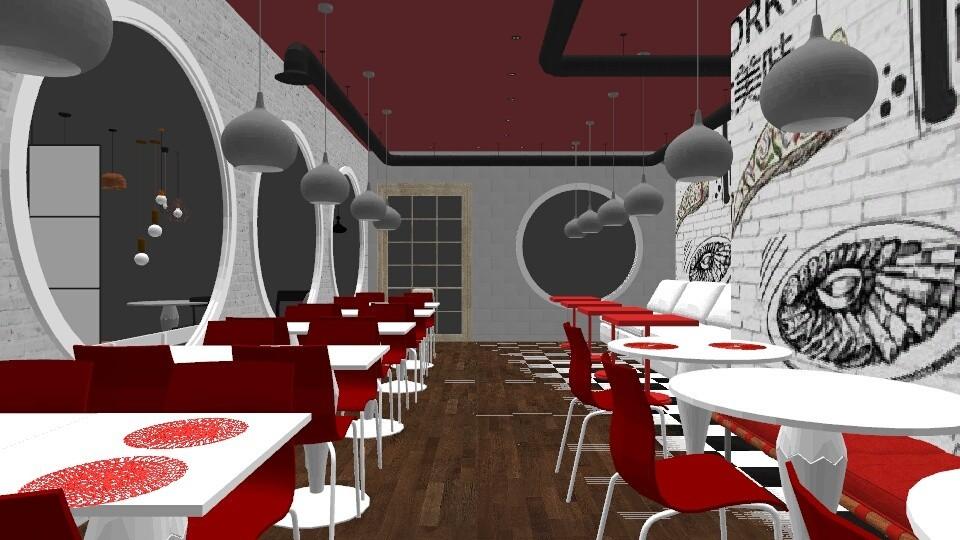 PIZZARIA - Dining room - by ManhardtTamara