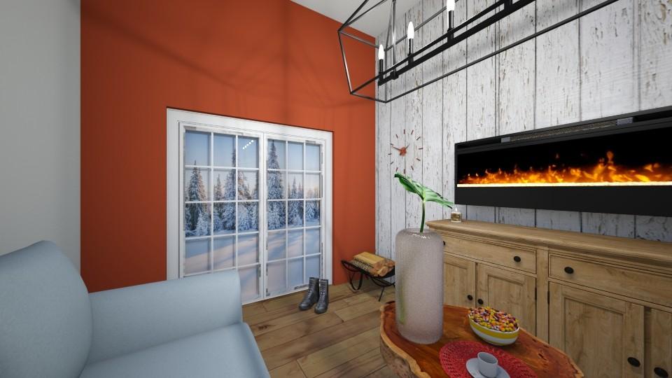 snow - Living room - by JADE LEON