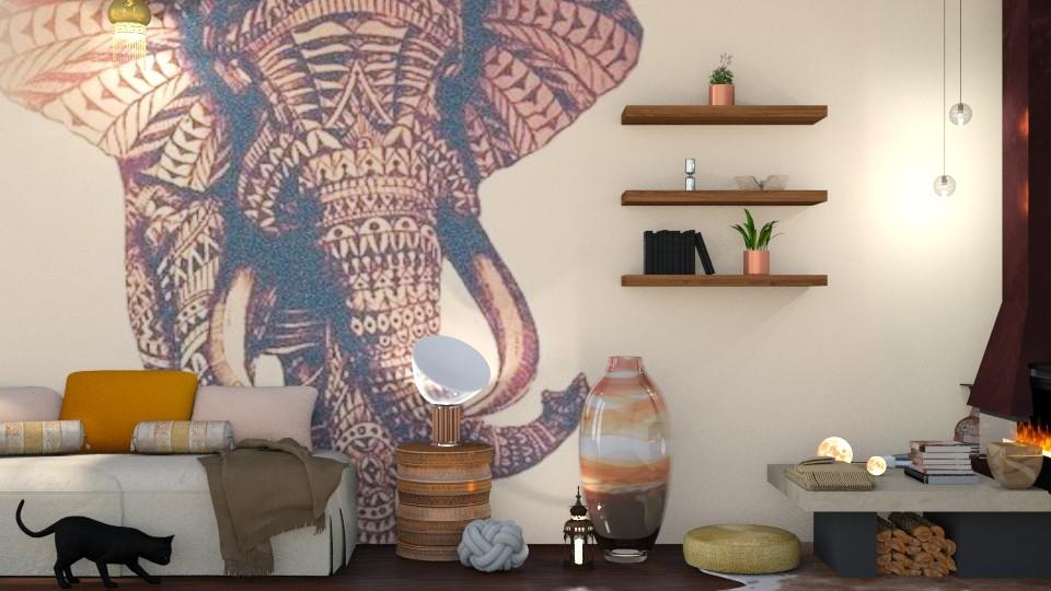 Rani - Global - Bedroom - by shahr