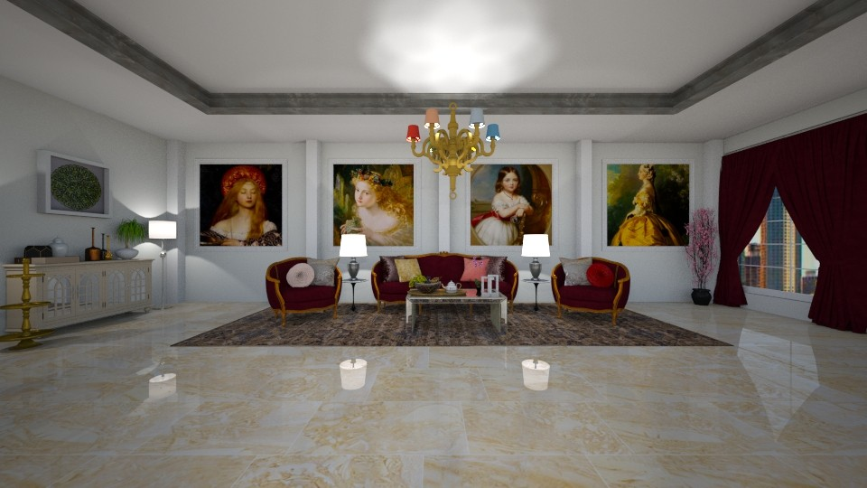 R L R - Glamour - Living room - by Art_Decoration