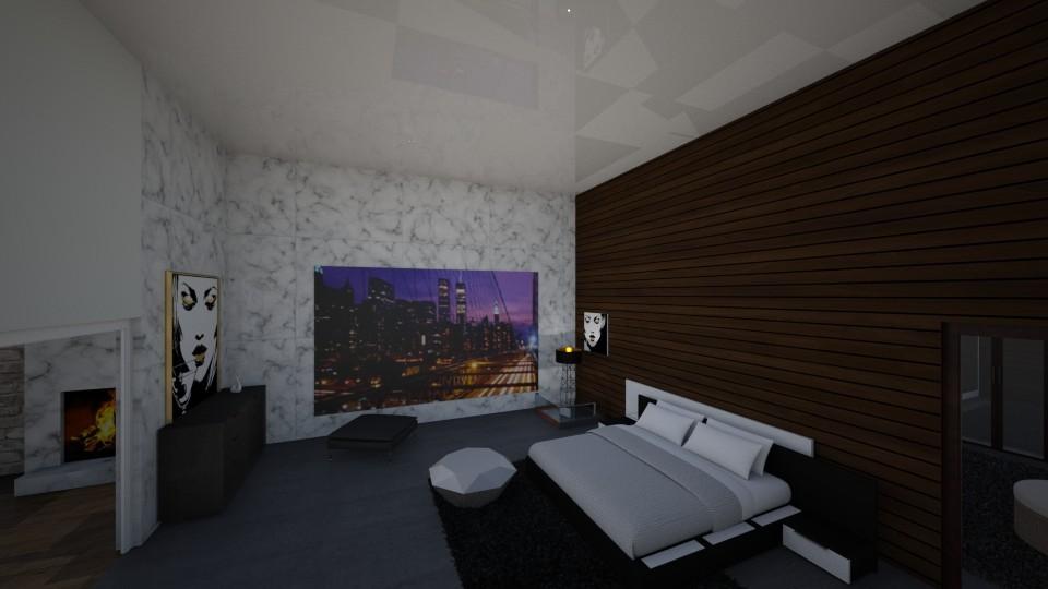 my dream bedroom - Modern - Bedroom  - by bidgenious21
