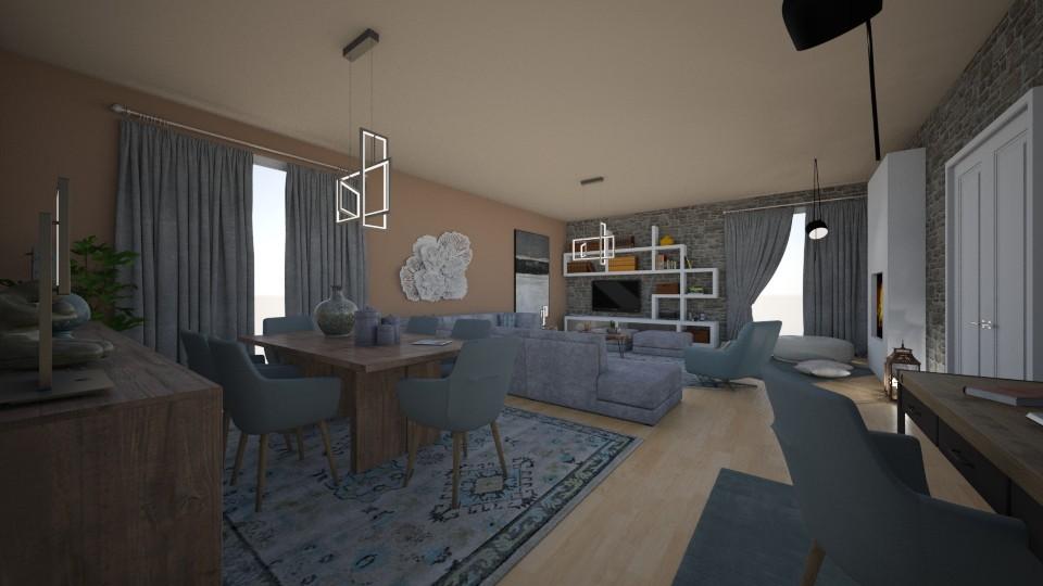 living room - by Vasiliki Stagkidou