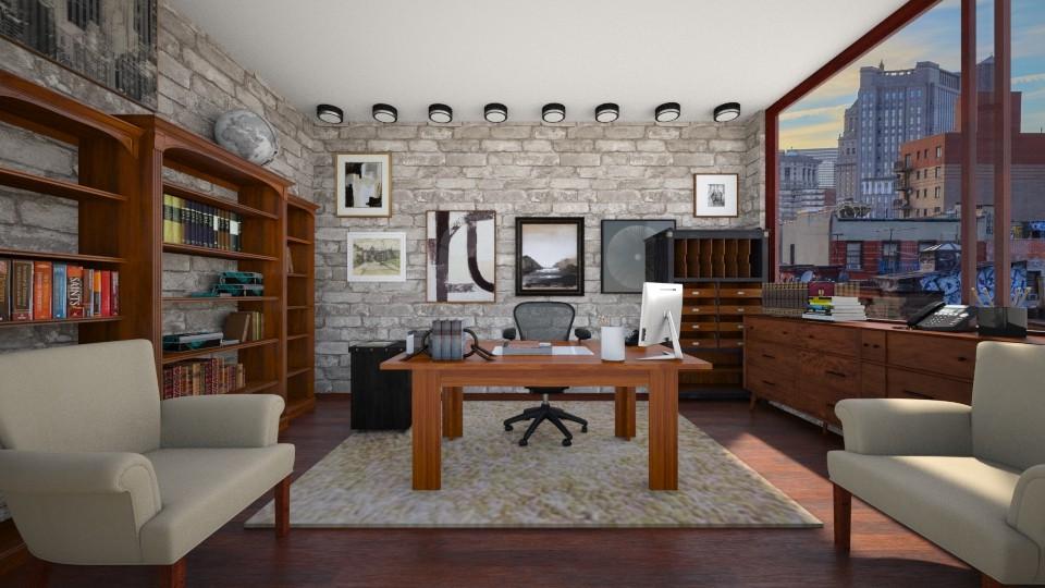 cherry office - Office - by ilikalle
