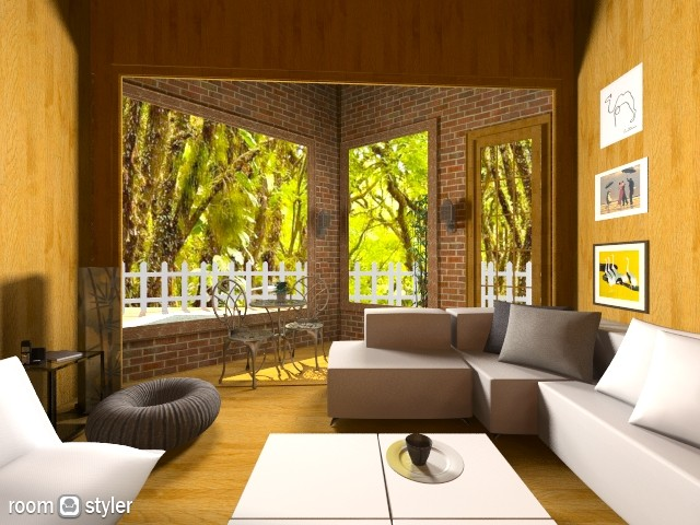 _ - Living room  - by isabelamoura