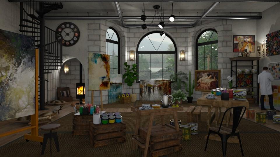 Artist Atelier - by lydiaenderlebell