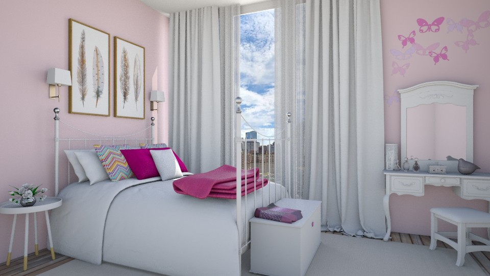 PINK - Bedroom  - by Sanja Pipercic