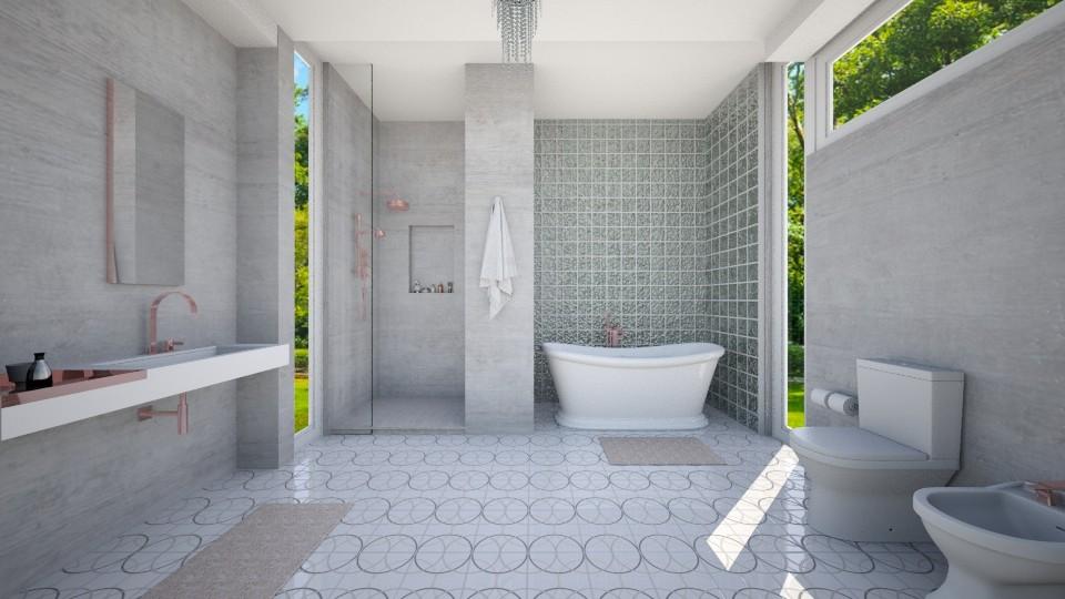 Paul is in London I - Modern - Bathroom - by mclaraop