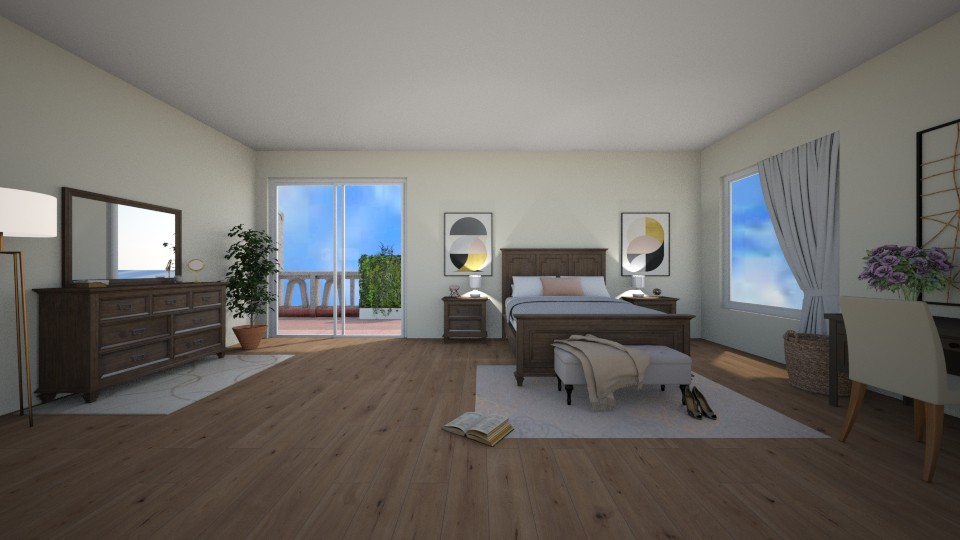 2nd Story Bedroom - by guineapiglover1