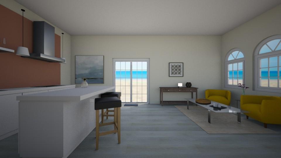 beach house  - by sosielundeen