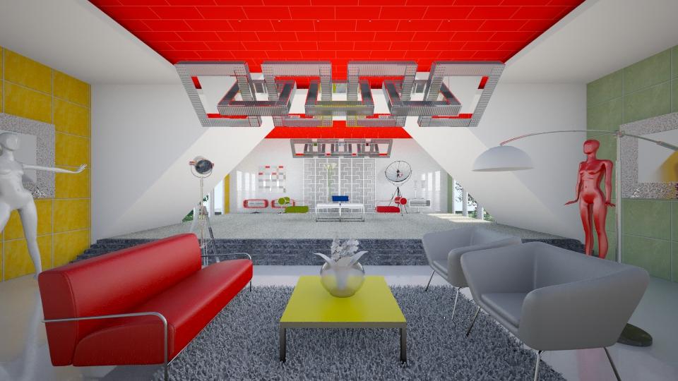 saj13 - Modern - Living room - by Saj Trinaest
