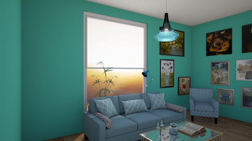 Livng Room  - Living room - by Naomi10