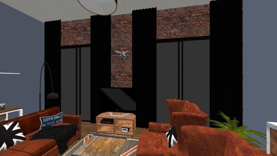 girls not allowed NYcity - Modern - Bedroom  - by dreamerana