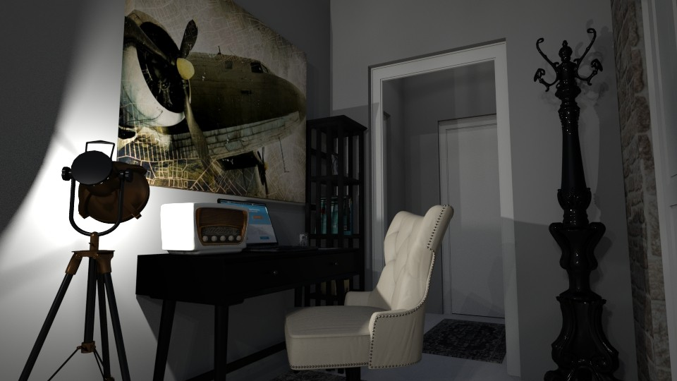 My Office 1 - Vintage - Office - by kostis kkkk