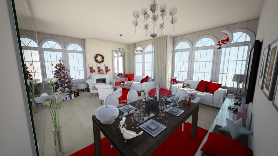 Christmas at home - Living room  - by JamieQu