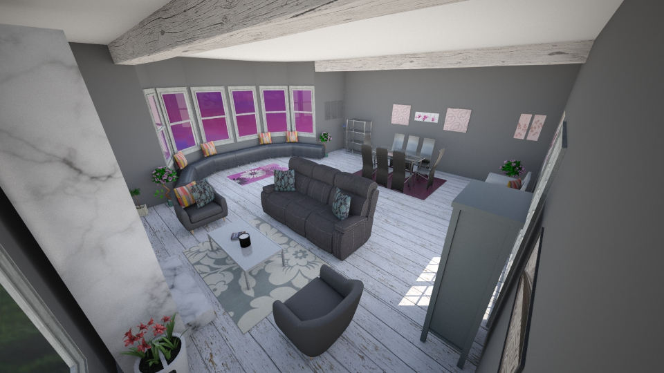 Practice 2 - Living room - by BrianaBorchert