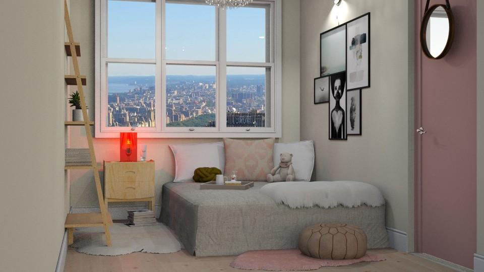 Tiny Girl Bedroom - by DeborahArmelin